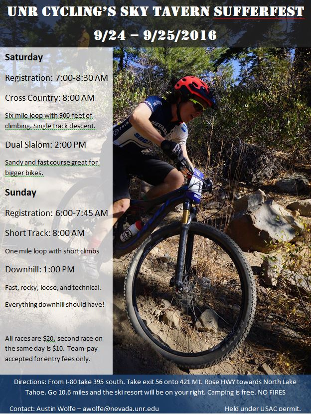 Sufferfest Flyer
